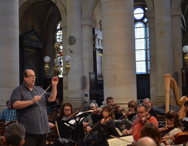 Mitchell Directing Orchestra Rehearsal