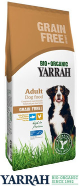 Yarrah Hundefutter Bio Adult GETREIDEFREI