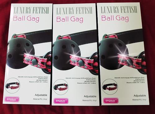 luxury ball gag
