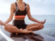 Yoga on SUP