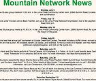 Mountain Network News - Website Screen Shot