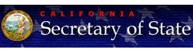 California Secretary of State image