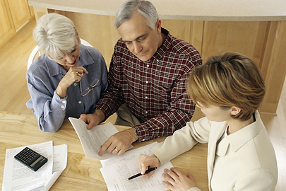 Discussing Estate and trust services