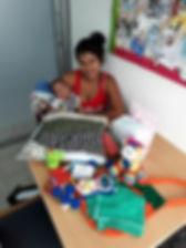 Donaciones que hace la Fundación Milagros de Vida a mamás de bebés prematuros