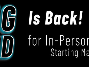 In-Person Lessons Starting Back Up! Here's What You Need To Know...