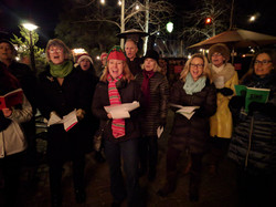 2017 Christmas Caroling in Downtown