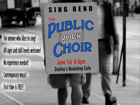 Public (Rock) Choir is here!