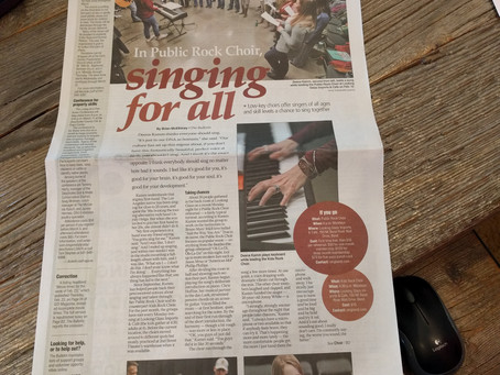 Great feature about us in the Bend Bulletin!