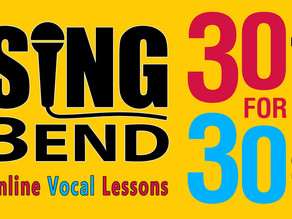 30 for 30 - Online Lessons