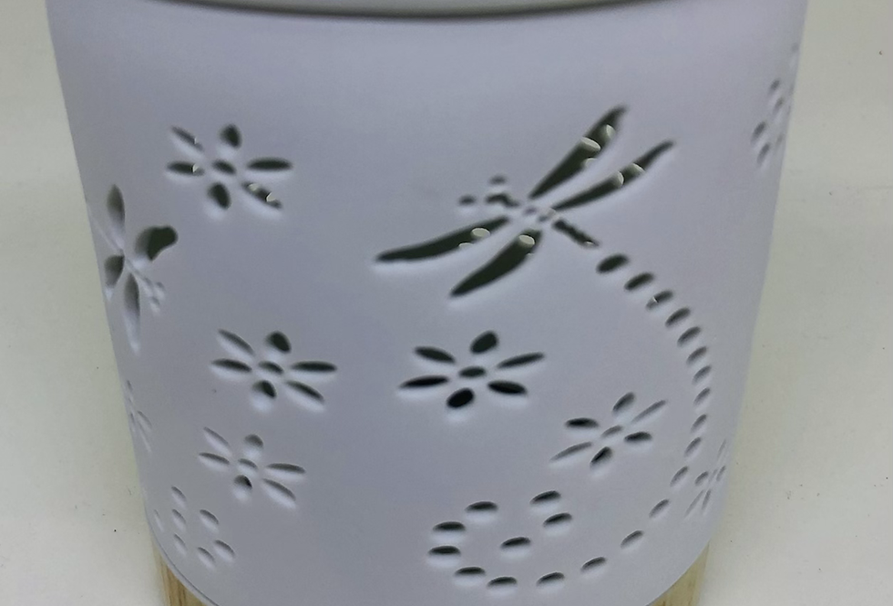 Dragonfly enclosed Tealight burner