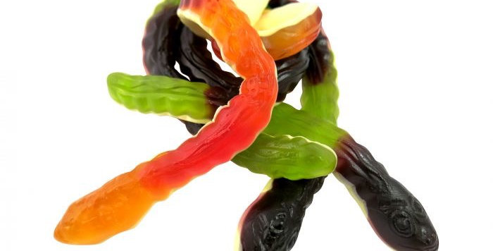 Haribo Yellow Belly Snakes