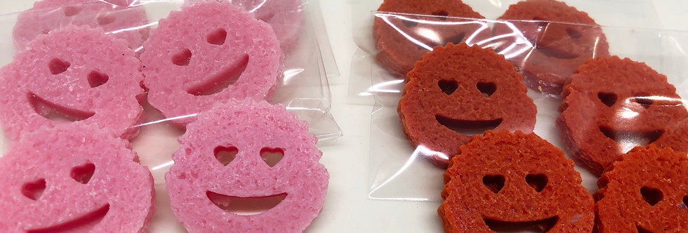 Valentines Smiley Scrub Melts