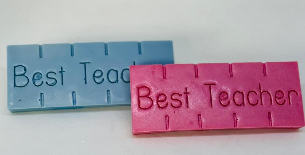 Best Teacher Snap Bar