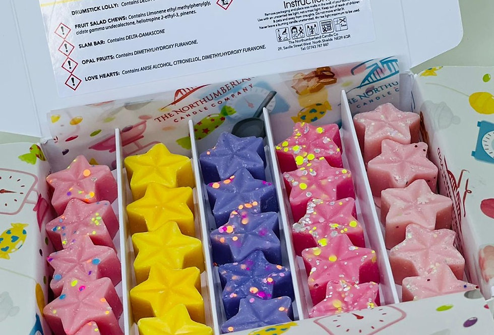 Retro Sweets Wax Melt Selection Box
