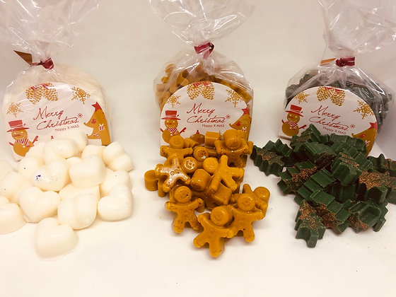 125g Xmas scented melt bags