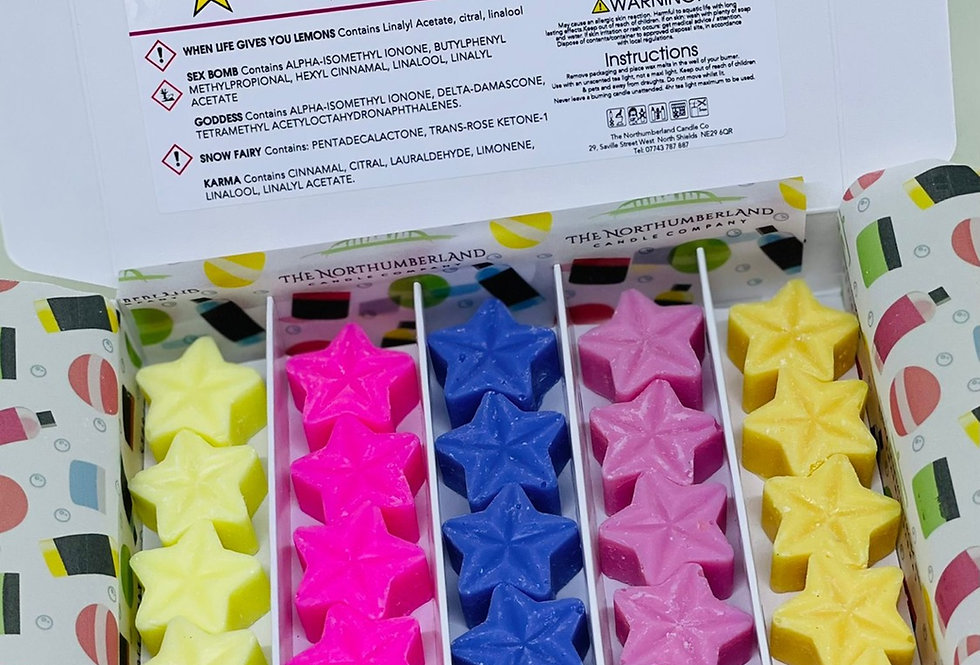 August Wax Melt Selection Box