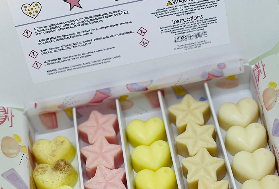 Perfume Wax Melt Selection Box