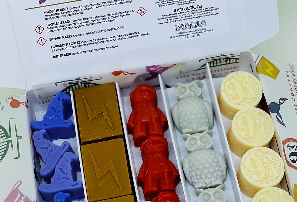 Wizard H Wax Melt Selection Box
