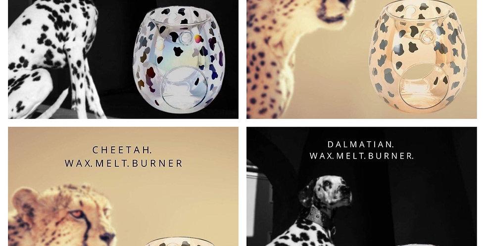 Dalmation/Cheetah Glass Burner