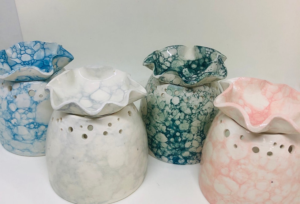Locally Handmade Clay Burners