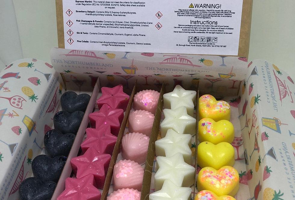 Cocktail Themed Wax Melt Selection Box