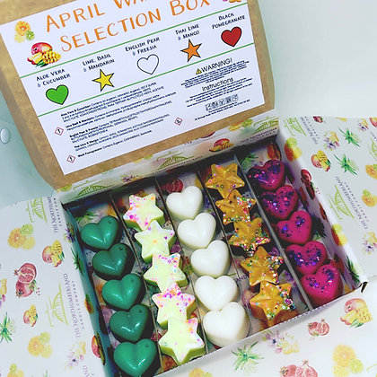 Spring Wax Melt Selection Box