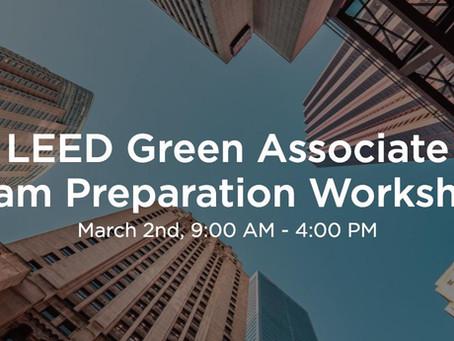 HXE LEED GA Course with Urban Green Council