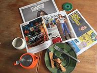 Social Media manager tools Elaine Paterson sunday papers tea and breakfast