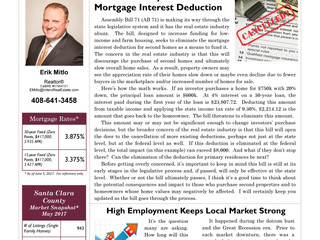 State Assembly Bill Threatens Mortgage Interest Deduction
