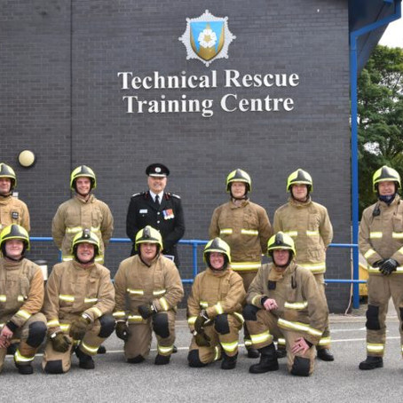 West Yorkshire Fire and Rescue Service celebrates new firefighters completing their training