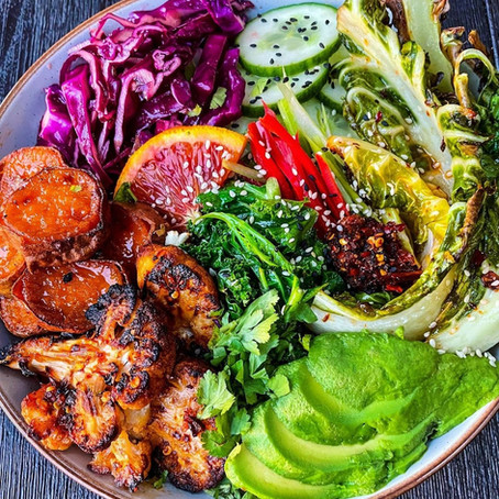 Thai Style Salad Bowl