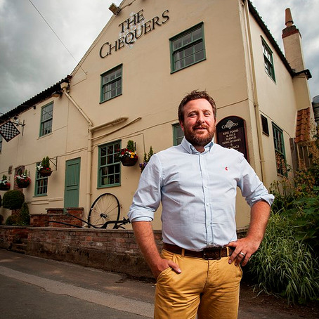 The Chequers Inn crowned regional winner in Great British Pub Awards