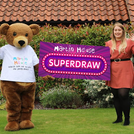 Martin House celebrates lottery with Superdraw