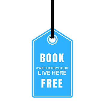 Book #wetherbyhour LIVE here
