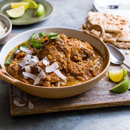 Slow cooker south Indian chicken curry