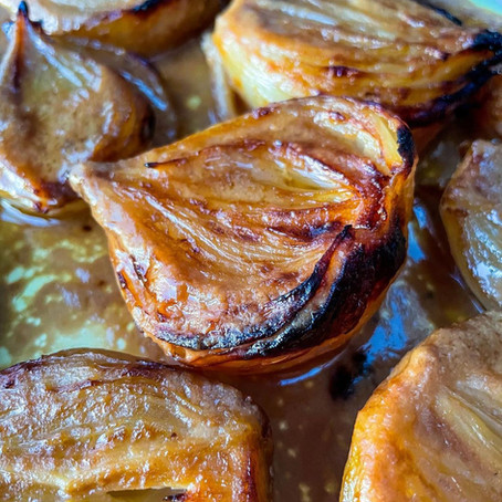 Miso Butter Onions