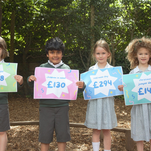 A Year of Giving… Brackenfield Pupils Raise Funds for Charity