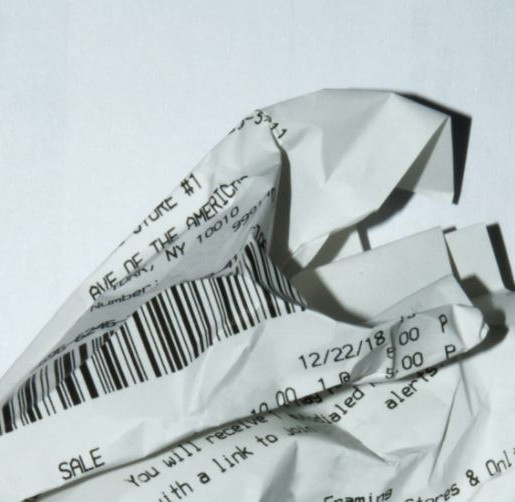Dealing with Receipts