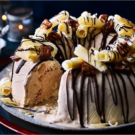 Chocolate and Caramel Ice Cream Bundt