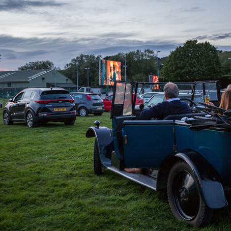 Drive-in at the Racecourse