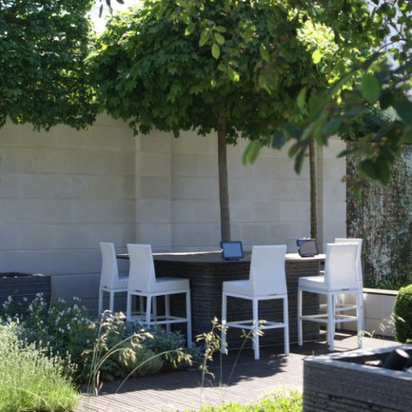 Outdoor Living: Seating areas, outside kitchens and offices