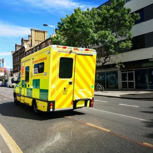 Giving way to emergency service vehicles