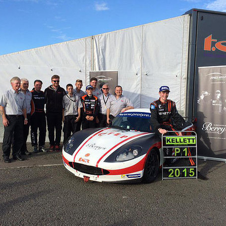 Local lad James Kellett Crowned 2015 Ginetta GT5 Challenge Champion!