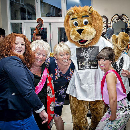 Wetherby Lions and Local Businesses Working Together In The Community