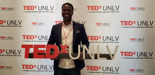 Kevin at TEDx UNLV Event