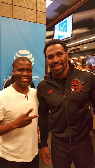 Kevin & Former NFL Star Steven Jackson