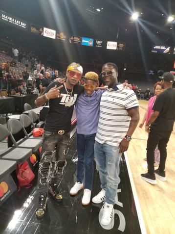 Kevin & KJ with Hip Hop Artist Fate Wilson