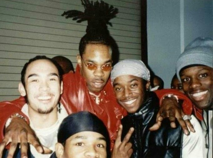 """Kevin & Hip-Hop Icon """"Busta Rymes"""", and Professional Dancers/Choreographers """"Dino the Funky Filapino, AJ, Showtime"""