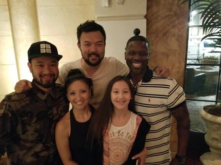 Kevin & Phi Nguyen (Original Jabbawockeez Crew), Sky Hoffman- Professional Dancer/Choreographer, Vangie Bisquera Culture Shock LV)