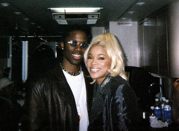 "Kevin & Tionne ""T-Boz"" Watkins of TLC"